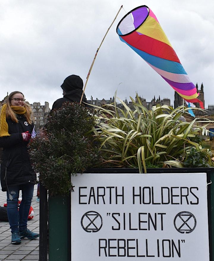 Earth Holders Edinburgh Silent Rebellion image