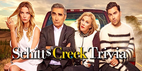 Schitts Creek Trivia Fundraiser(live host) via Zoom (EB) tickets