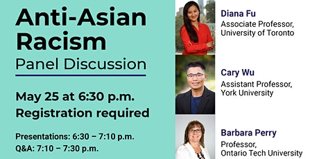 Anti-Asian Racism: A Panel Discussion tickets