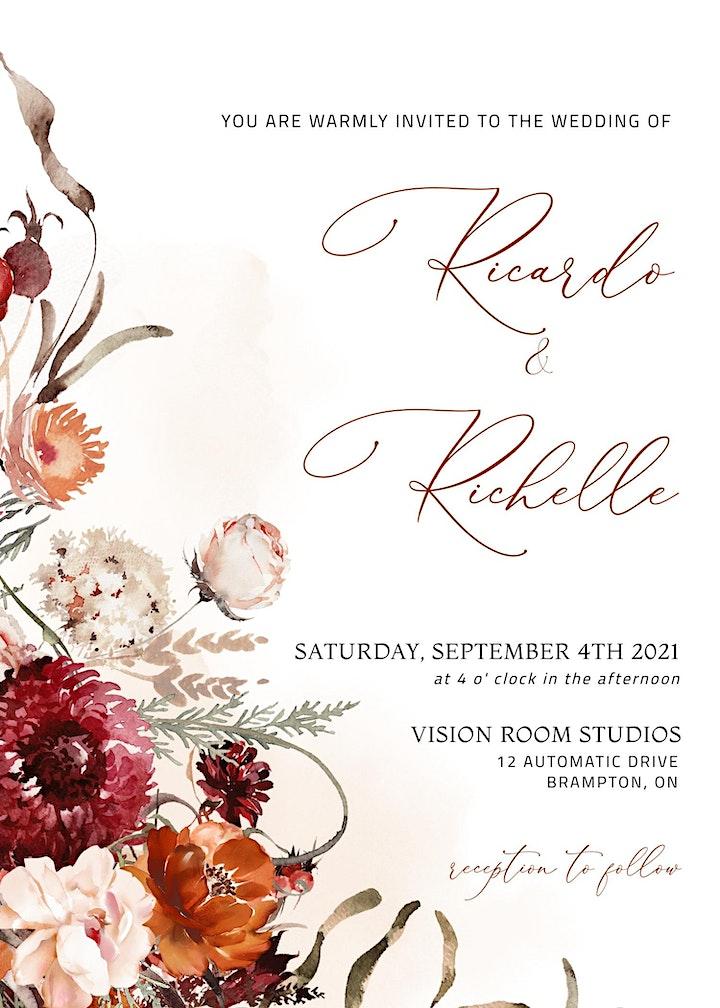 Ricardo & Rochelle's wedding image
