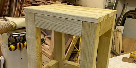 Junior project - make a stool, age 11-16 tickets
