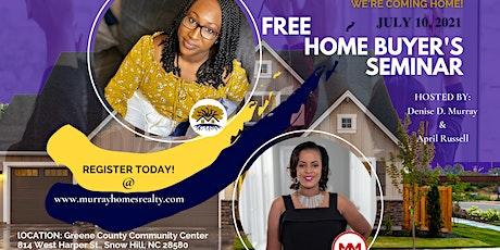 Free Homebuyer's Seminar tickets