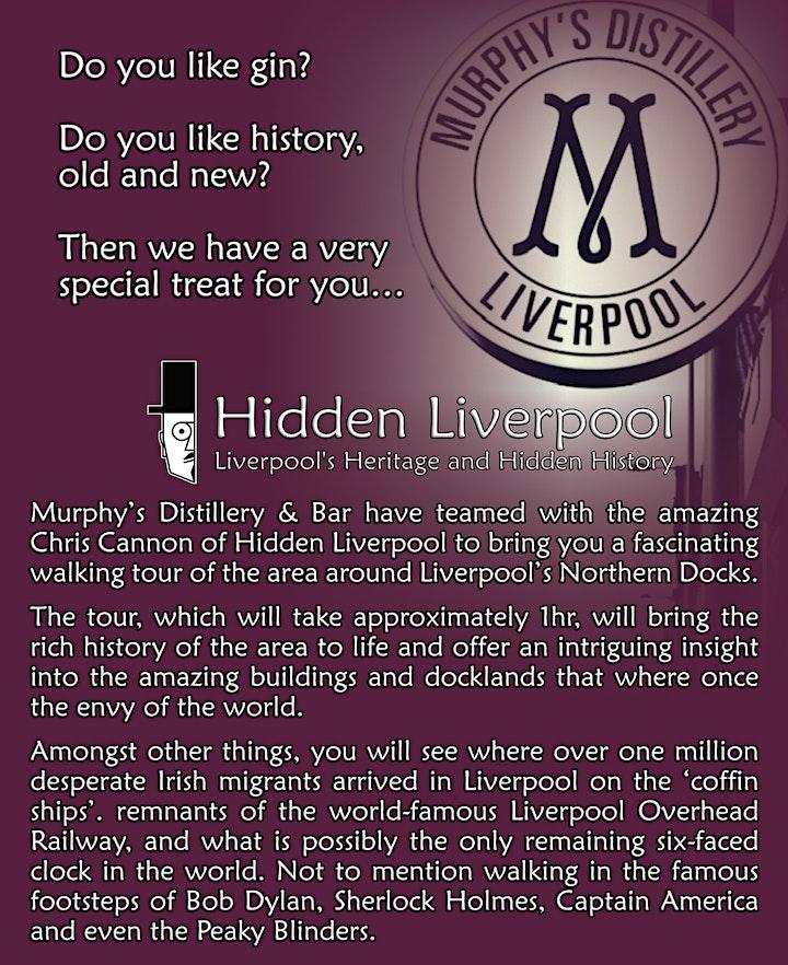 Murphy's Distillery & Bar / Hidden Liverpool Northern Docks Tour image