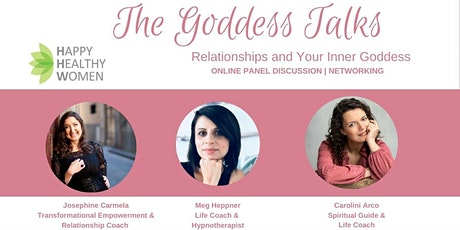 The Goddess Talks - Relationships and your Inner Goddess tickets