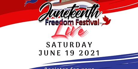 Juneteenth Freedom Festival Live tickets