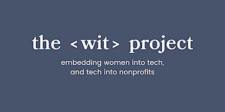 The  WIT Project Fellowship Information Session 2 tickets