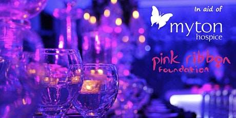 Hint of Pink Butterfly Ball - for Myton Hospices & Pink Ribbon Foundation tickets