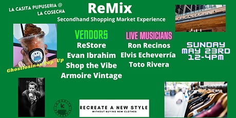 ReMix Secondhand Shopping Market Experience tickets