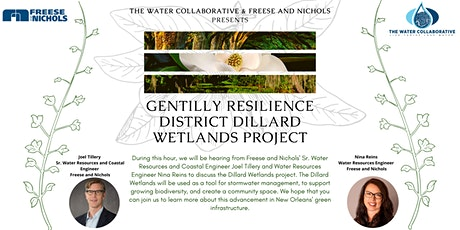 Lunch and Learn: Gentilly Resilience District Dillard Wetlands Project tickets