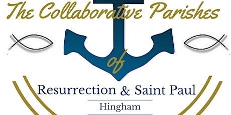 Ascension Thursday  Vigil 4 PM Mass:  at Resurrection Church, Hingham tickets