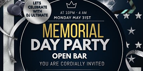 MEMORIAL DAY PARTY AFTER HOURS tickets