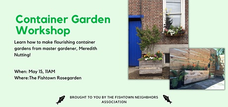 Container Garden Workshop tickets