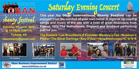 Oban International Shanty Festival 2021(online) tickets