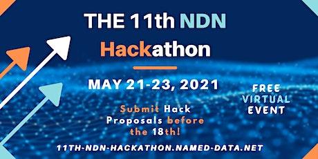 11th NDN Hackathon tickets