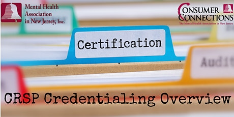 CRSP Credentialing Overview tickets