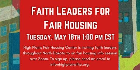 Faith Leaders for Fair Housing tickets