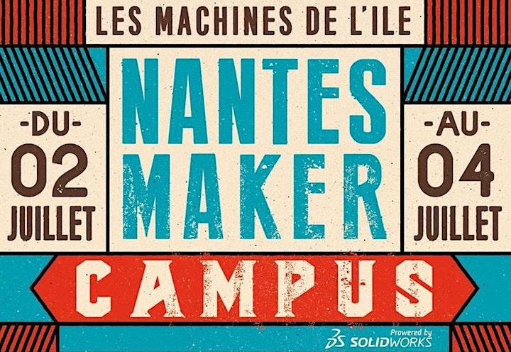 Image pour Nantes Maker Campus 2021 - Soirée de présentation #1