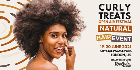 2021 CURLYTREATS  Natural Hair Festival tickets