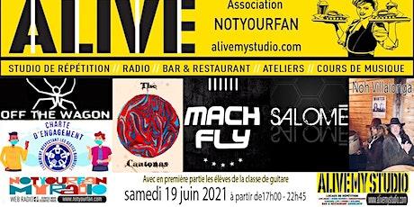 Fête de la Musique Jour 2 ALIVE My STUDIO billets