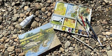 The Gardens in Watercolor: A Morning En Plein Air tickets