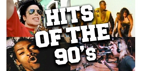 90's Dance Party - Top 40 Pop Hits, Dance Music, Hip Hop, R&B--Free on Zoom tickets