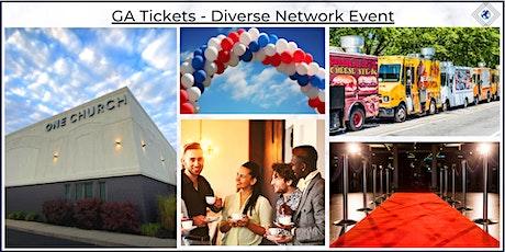 GA Tickets - Diverse Network Event tickets