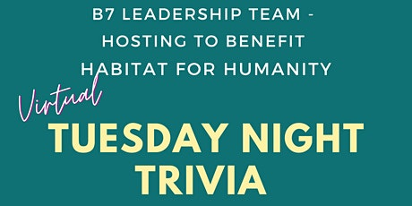 Virtual Trivia Night to Benefit Habitat for Humanity tickets