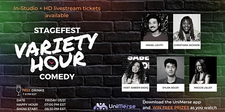 Stagefest Comedy Show Ep 3: Live & Live-streamed! tickets