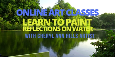 Learn to Paint Reflections on Water tickets