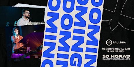 CULTO DOMINGO - 09/05 ingressos
