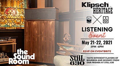 Klipsch Heritage Listening Event at the Sound Room tickets