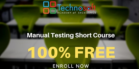 Free Manual Testing Short Course tickets