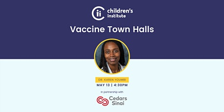 Virtual Vaccine Town Hall tickets