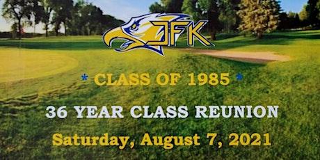 JFK Class of 1985 Reunion tickets
