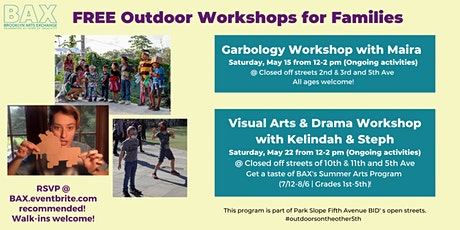 Outdoor Visual Arts & Drama Workshop with  Kelindah & Steph tickets