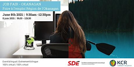 Job Fair  Okanagan - Foire à l'emploi Région de l'Okanagan billets