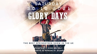 Glory Days - Tribute to Bruce Springsteen tickets