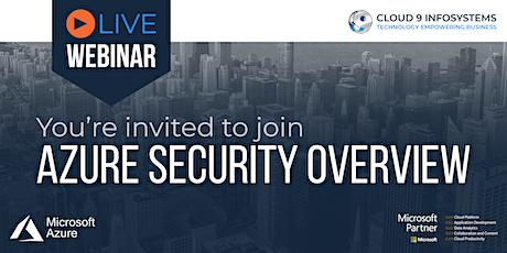 Azure Security Overview biglietti