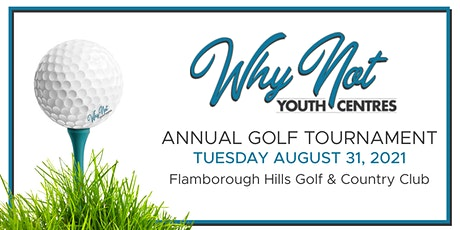 Why Not Annual Golf Tournament tickets