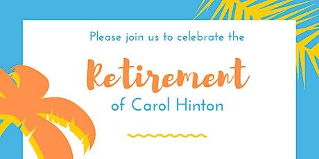 Carol's Retirement Celebration & Luncheon tickets