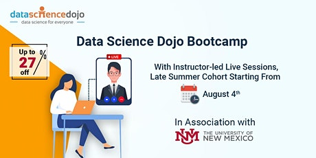 Data Science Bootcamp: Late Summer Cohort tickets