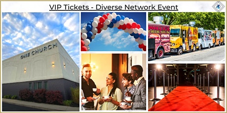 VIP Tickets - Diverse Network Event tickets