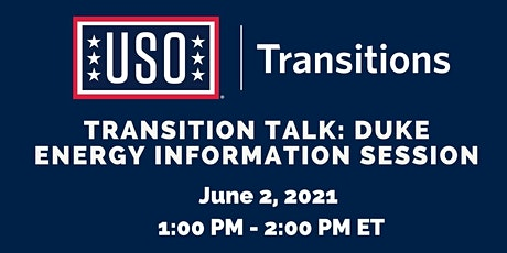 Transition Talk: Duke Energy Information Session tickets