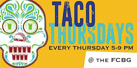 Taco Thursdays at the Beer Garden tickets
