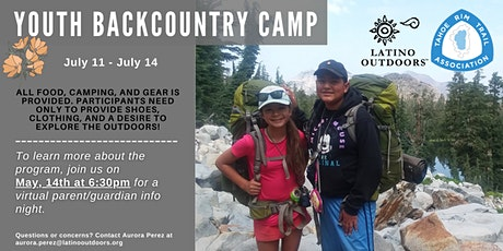 LO SF Bay Area| Explore Tahoe: Youth Backpacking Trip Parent Info Session Tickets