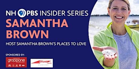 NHPBS Insider Series | Samantha Brown tickets