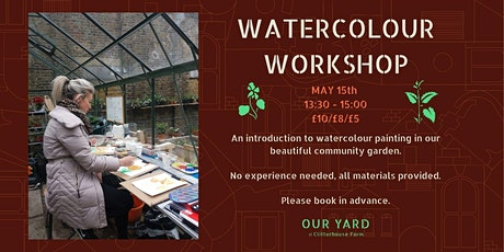 Watercolour Workshop (2) tickets