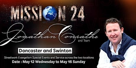 Swinton - Mission 24 with UK Evangelist Jonathan Conrathe and Team tickets