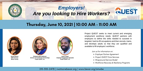 Employers! Are you looking to Hire Workers? tickets