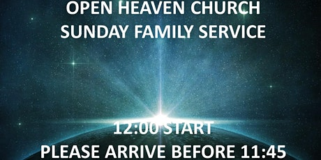 Open Heaven Wednesbury Family Service 9th May 2021 tickets